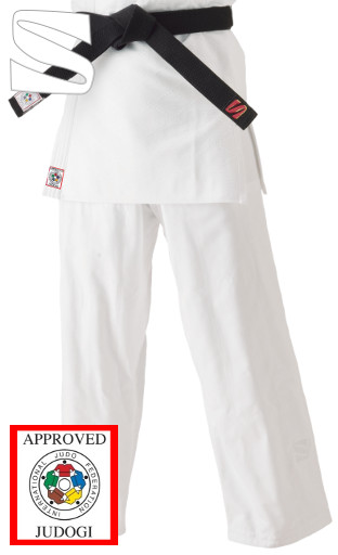 IJF Pants for Kata (White)